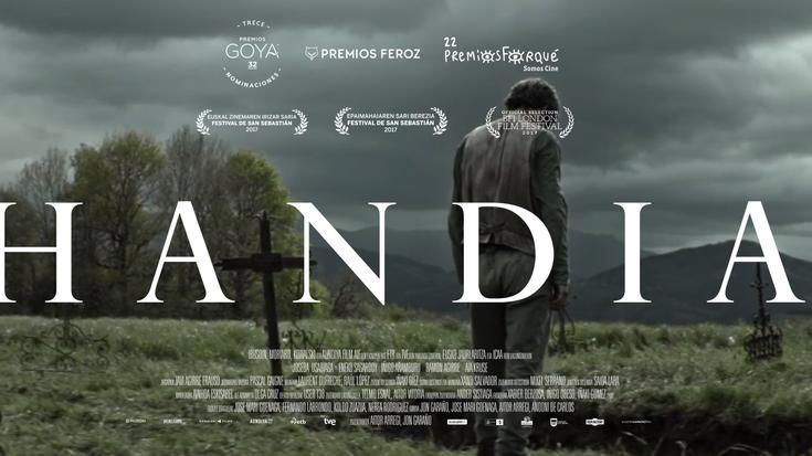 'Handia' film saritua Netflixen egongo da ikusgai maiatzetik aurrera