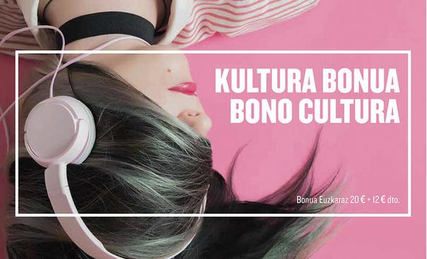 Kultura Bonuarekin 12 euroko hobaria euskarazko produktuetan