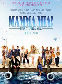 'Mamma mia! una y otra vez' filmaren emanaldia