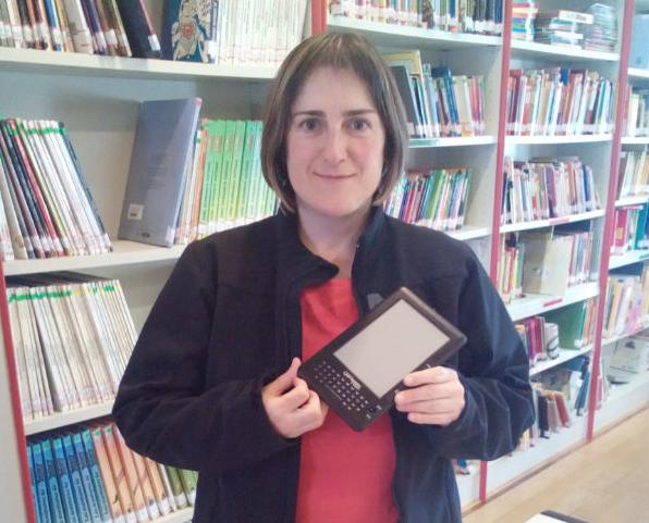 Eneida Elorriagak irabazi du liburutegiko ginkana lehiaketa