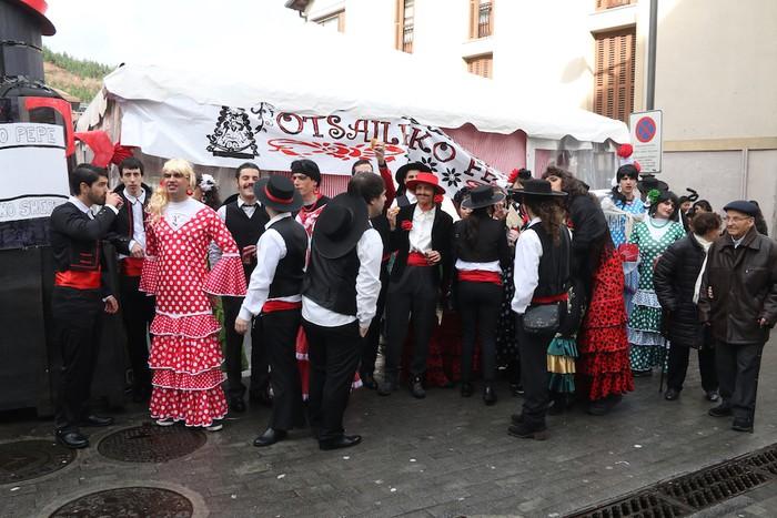 Inauterietako desfilea Aretxabaletan - 22