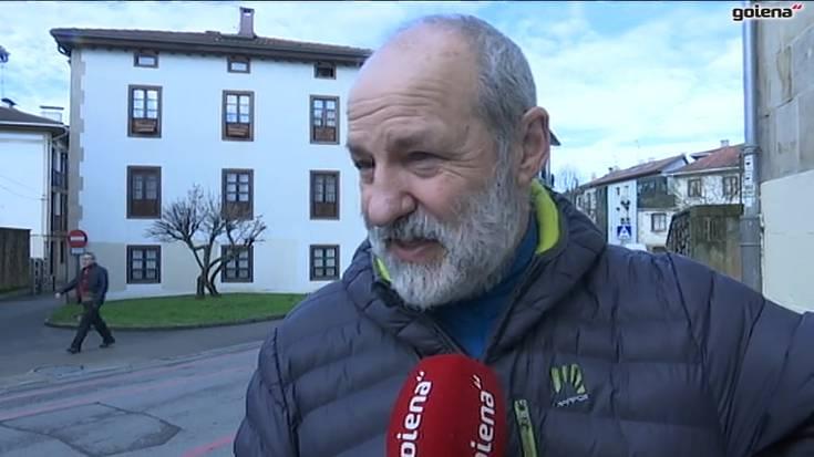 """Oñatiarrak """"harro"""", Aitor Arregik egindakoarekin"""