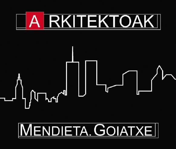 Mendieta-Goiatxe Arkitektoak logotipoa