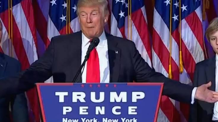 """Donald Trump: """"Zatiketak eragin dituen zauriak sendatzeko eta batzeko unea da"""""""