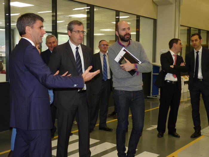 Goribarko lantegi berria inauguratu du Ulma Packagingek