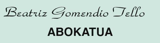 Gomendio Beatriz abokatua logotipoa