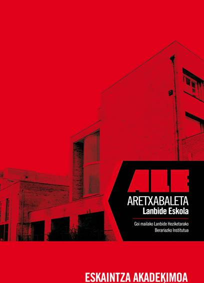 948813 Aretxabaleta Lanbide Heziketa Eskola LHII a