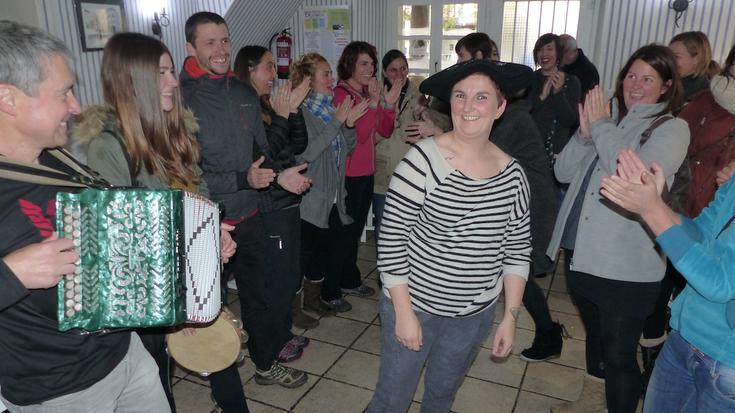 Rincon de Lola tabernako 'Natura' pintxoak irabazi du Elgetako IX. Pintxo Lehiaketa