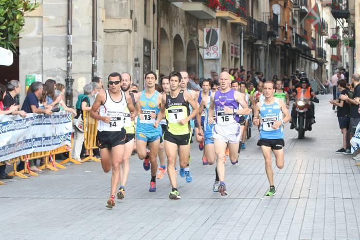 Euskal Herriko atleta onenak batuko ditu Oñatiko Herri Lasterketak