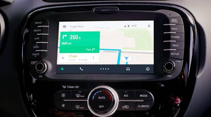 Auto eta telebistetara sartuko da Android, bete-betean