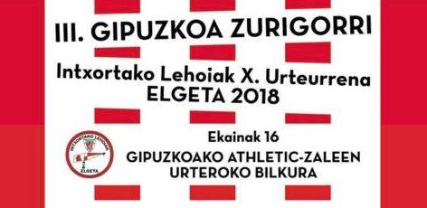 200 lagunetik gora izango dira bihar Elgetako Zurigorri Egunean