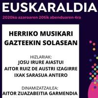 'Musika eta euskara' mahai-ingurua