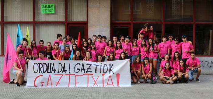 Gazteen nahiak agerian, 'Gaztetxia herrira' astean