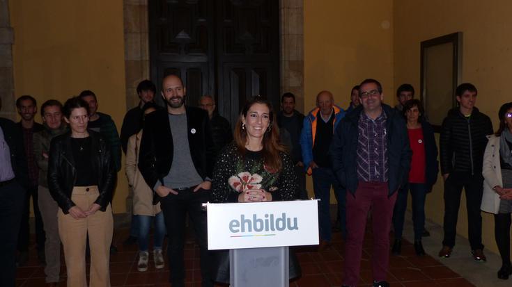 Izaro Elorza da EH Bilduko Oñatiko alkate izateko aurkeztu duten hautagaia