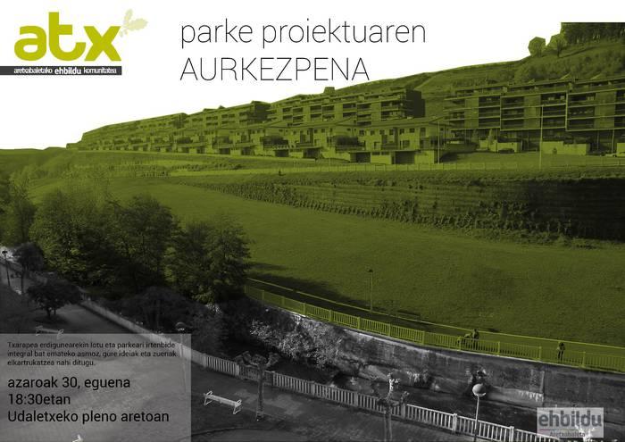 EH Bilduren aurkezpena: Parke proiektua