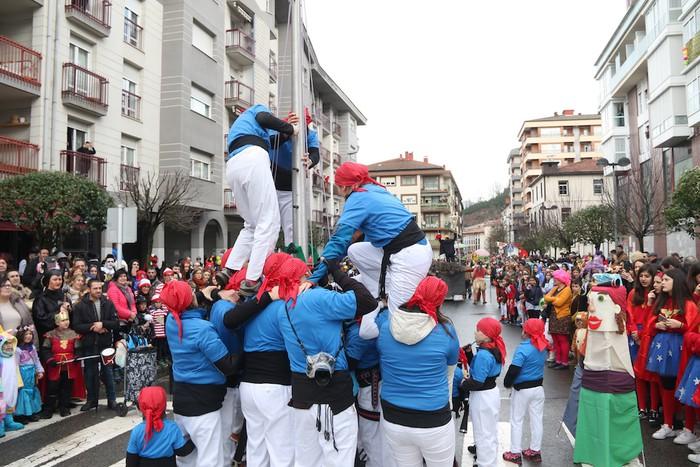 Inauterietako desfilea Aretxabaletan - 50