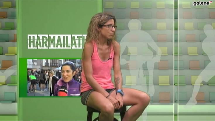 'Harmailatik' elkarrizketa: Nere Arregi atleta