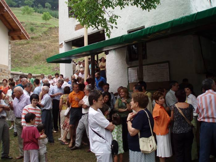 Aldai-Egia auzoko San Kristobal jaiak