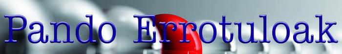 Pando Errotuluak logotipoa