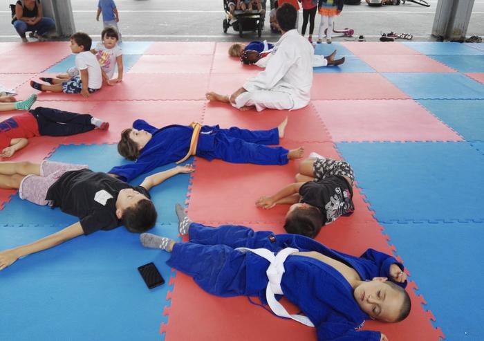 Judoa ezagutzeko ate irekien jardunaldia egingo du Desoreka judo klubak