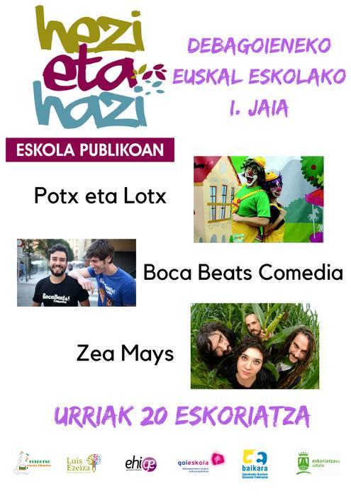 Debagoieneko Euskal Eskola Publikoaren I.jaia