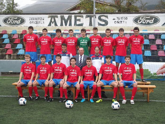 Aloña Mendi Kirol Elkarteko Futbol saileko talde guztiak aurkeztu dituzte - 12