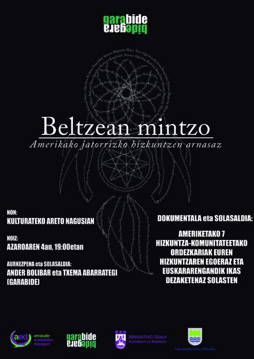 Beltzean Mintzo dokumentala, Kulturaten