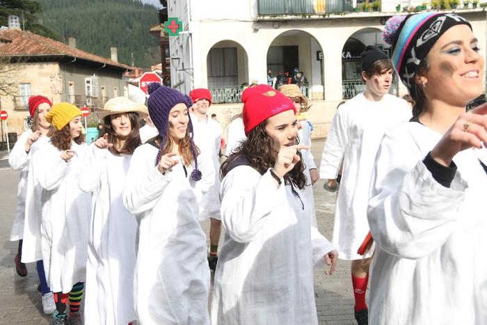 Inauterietako desfilea Aretxabaletan - 9