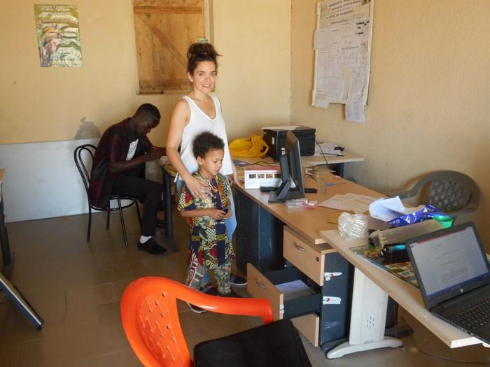 Ndank Ndank elkartekoak Senegalen izan dira