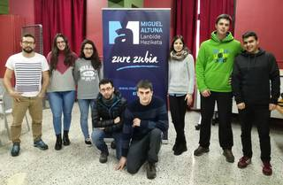 Lan-praktikak atzerrian egingo dituzte Erasmus+ programaren bidez