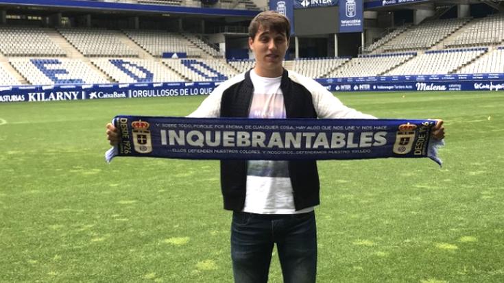 Real Oviedok fitxatu du Andoni Ugarte oñatiarra
