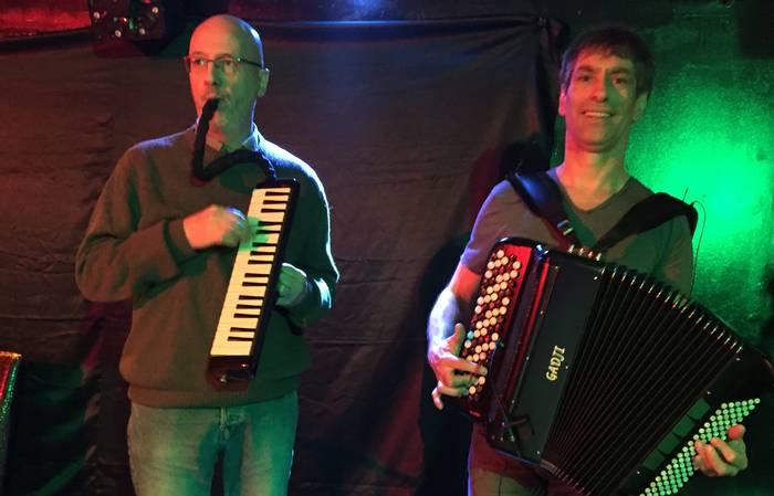 Folk dantzaldia Espaloian: Duo Godon-Thézé