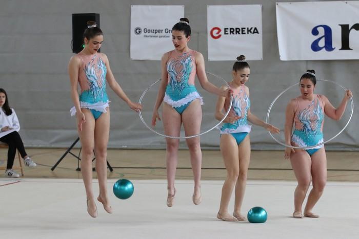 Maila bikaina gimnasia erritmikoko txapelketan - 35