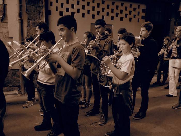 Eguenean ospatuko sute Santa Zezilia musika eskolakoek