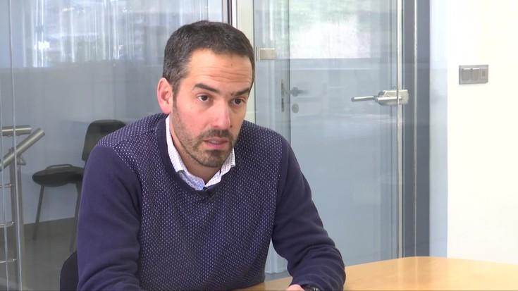 """Iker Zubia: """"Jendeari lasai egoteko eskatzen diogu, eta ez galtzeko gugan duten konfidantza"""""""