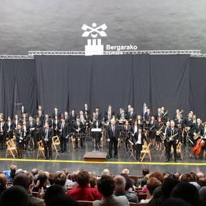 Bergarako musika bandaren kontzertua, 2017ko sanmartinetan