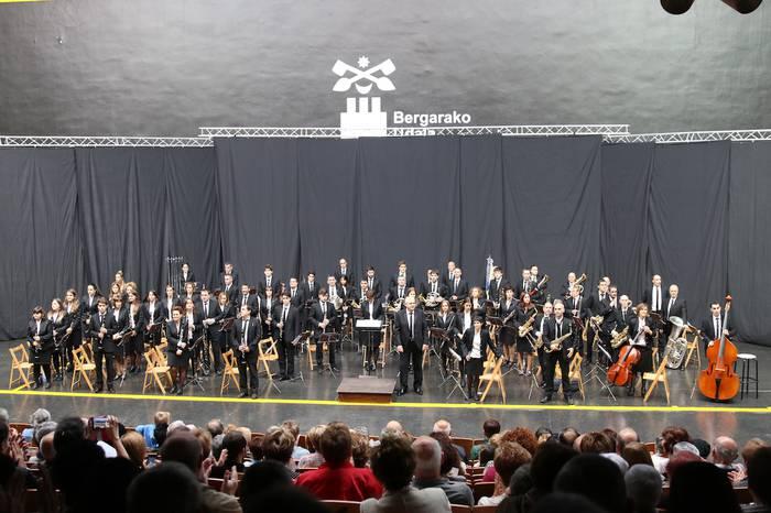 Bergarako Musika Bandaren kontzertua