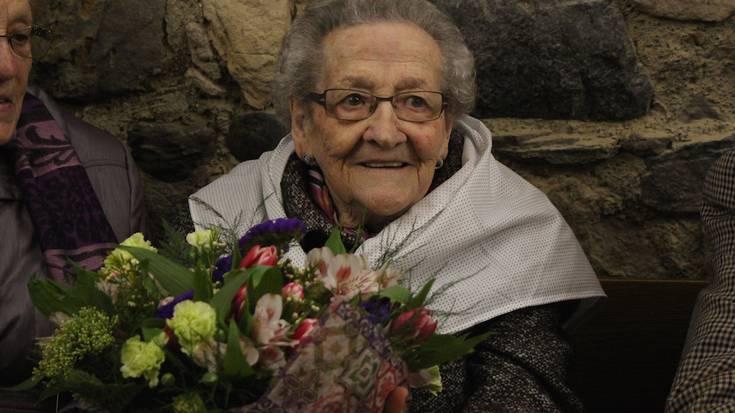 Sasoi betean bete ditu Matilde Arresek 100 urte