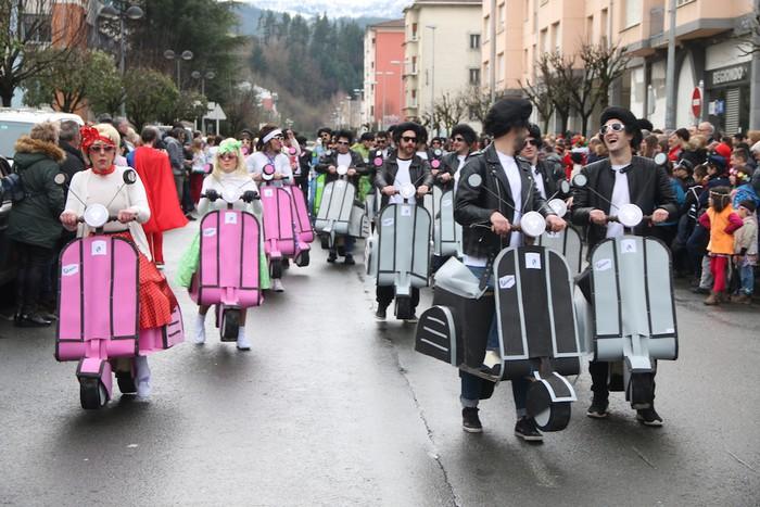 Inauterietako desfilea Aretxabaletan - 78