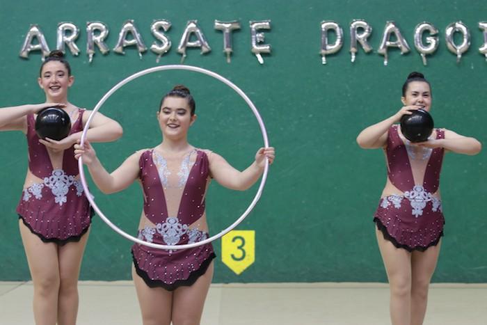 Ikasturte amaierako erakustaldia egin dute arrasateko gimnastek - 19