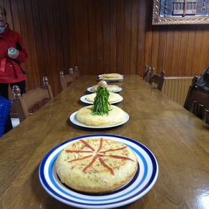 Tortilla gozoak dastatzeko aukera Aramaion