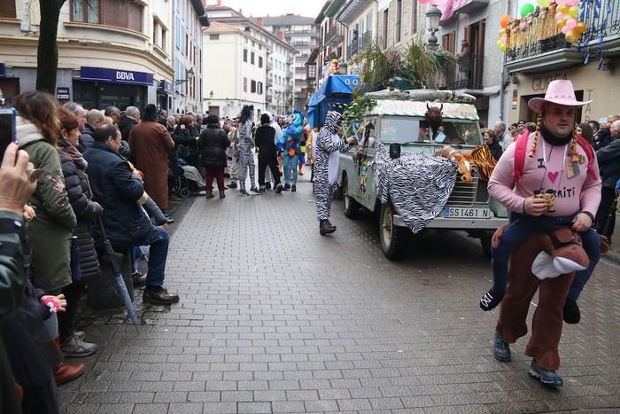 Inauterietako desfilea Aretxabaletan - 90