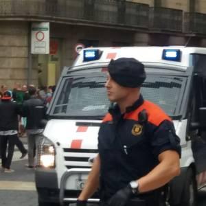 Horrela bizi izan dute urriaren 1a Katalunian egon diren debagoiendarrek