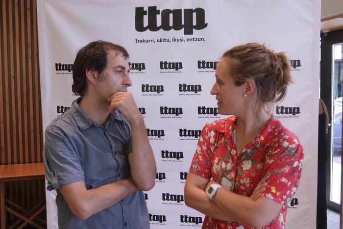 'Ttap' aldizkaria ezagutzeko jende asko elkartu da Donostian - 5