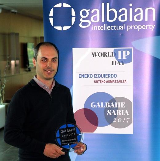 Eneko Izquierdok jaso du Galbahe 2017 saria
