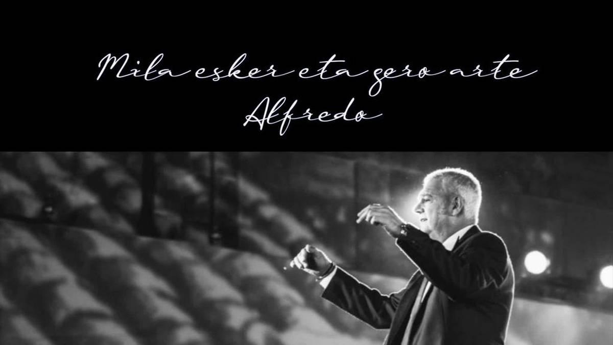 'Mila esker eta gero arte Alfredo' kontzertua osorik