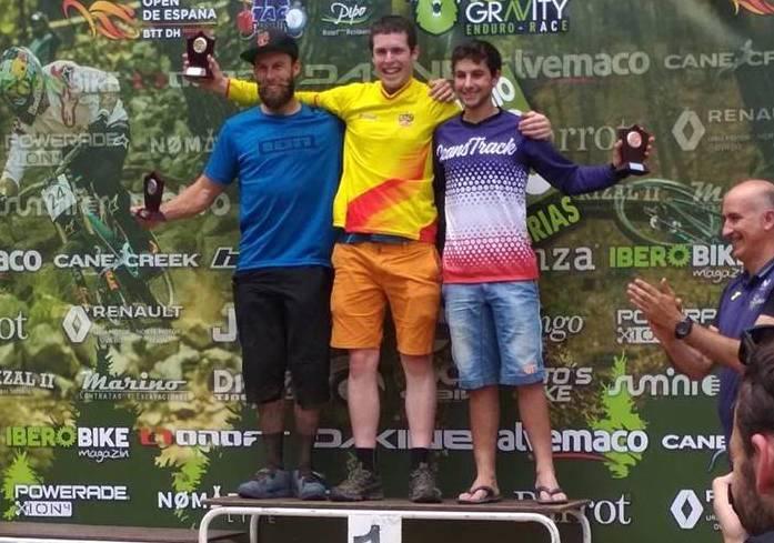 Markel Uriartek irabazi du Espainiako Enduro Opena