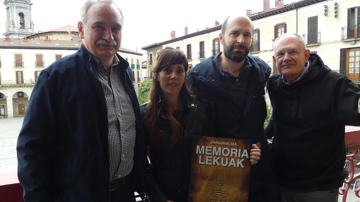 Memoria-lekuei buruz jardungo dute maiatzean Oñatin