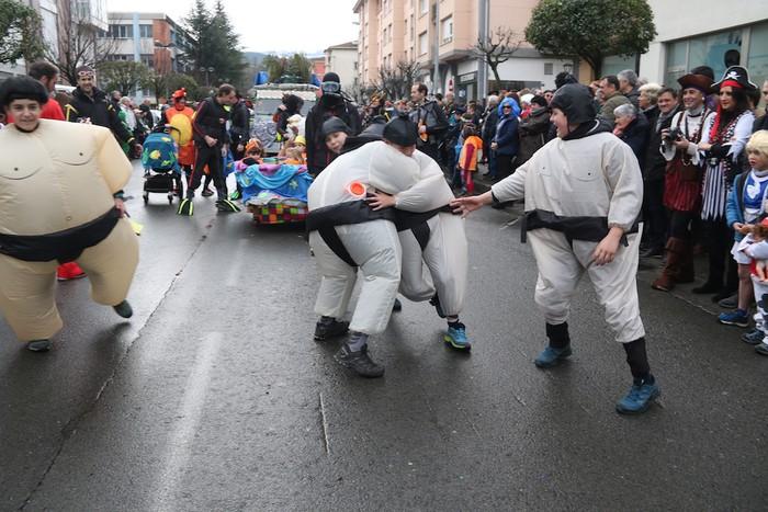Inauterietako desfilea Aretxabaletan - 65