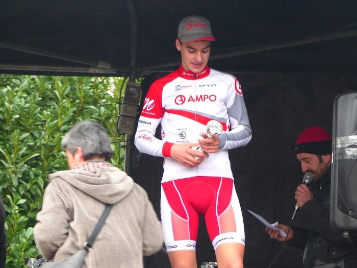Ruiz de Larrinaga eta Lekuona garaile Arrasateko ziklo-krosean - 96